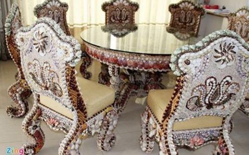 Bộ bàn ghế gỗ sưa trăm tỷ đắt nhất Việt Nam - ảnh 2