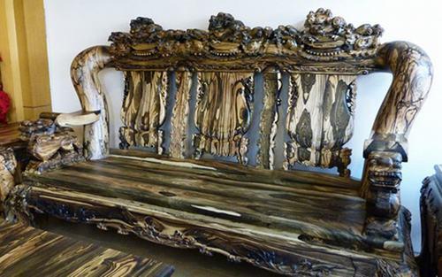 Bộ bàn ghế gỗ sưa trăm tỷ đắt nhất Việt Nam - ảnh 8