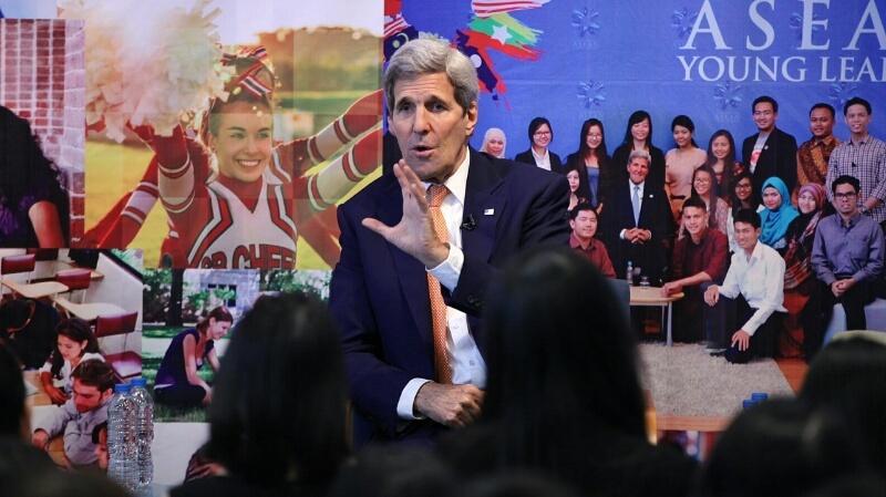 Ngoại trưởng Mỹ, John Kerry, cuộc đối thoại đặc biệt, Đại học Fulbright Việt Namm