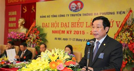 'Cổ phần hóa Tcty VTC là nhiệm vụ chính trị quan trọng'