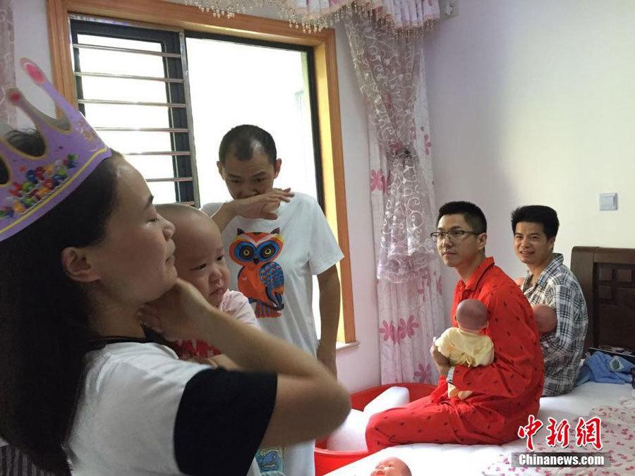 sản phụ, chồng, vợ, ở cữ, sau sinh, chăm con