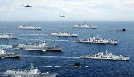 TQ diễn tập bắn đạn thật ở Biển Đông