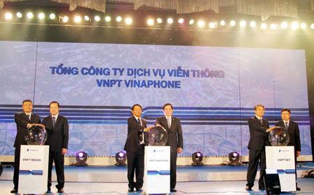 Tổng Cty VNPT VinaPhone; ra mắt