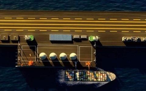 TQ âm mưu xây đảo nổi khổng lồ trên Biển Đông