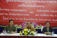 Tập huấn xuất bản, in và phát hành cho cán bộ Lào