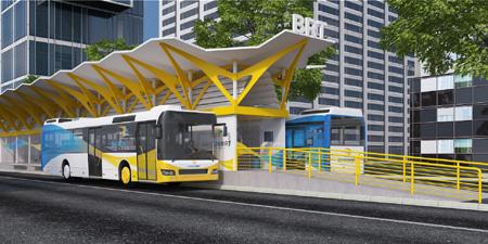 Khởi động dự án tuyến xe buýt nhanh số 1 TP.HCM