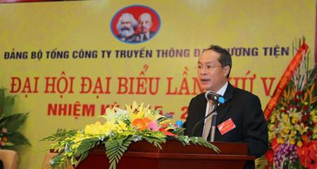 Ông Lưu Vũ Hải trúng cử Bí thư Đảng ủy TCty VTC