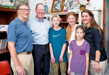dạy con, thành công, Bill Gates, tỷ phú
