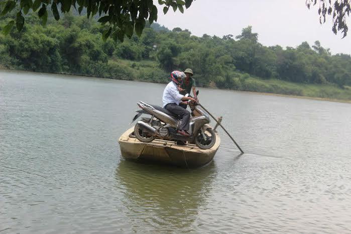 cầu Khe Tây; Vũ Quang; Hà TĨnh