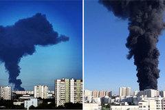 Cột khói đen kỳ dị gây ra hoảng loạn ở Moscow