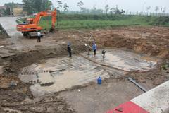 Đường ống nước sông Đà vỡ lần thứ 13