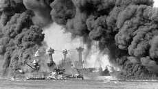 Clip lịch sử: Mỹ, Nhật giao tranh ác liệt tại Trân Châu Cảng