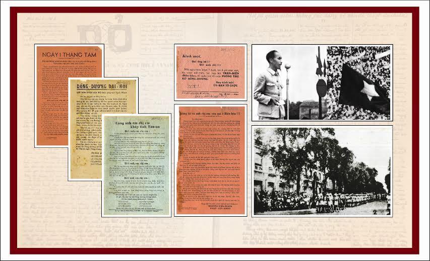 truyền đơn, tuyên truyền, cách mạng, trước 1945, lưu trữ