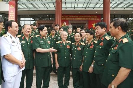 Bộ trưởng Quốc phòng, Phùng Quang Thanh, Bộ Tổng tham mưu, chủ quyền