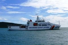 Hải trình dài đầu tiên của tàu Cảnh sát biển 8002