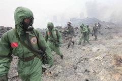 Chùm ảnh lột tả sức tàn phá của vụ nổ Thiên Tân