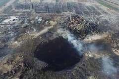 Hố đen khổng lồ tại tâm vụ nổ Thiên Tân