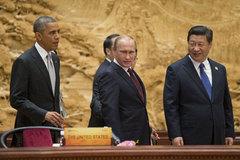 Mỹ đau đầu với Putin, chóng mặt vì Trung Quốc