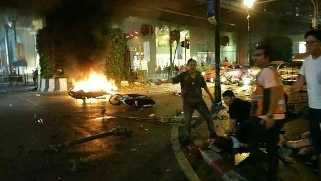 nổ bom, xe bom, Bangkok