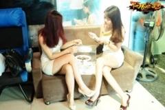 Cô gái cởi đồ ngay tại buổi ra mắt gMO Tam Quốc 3D