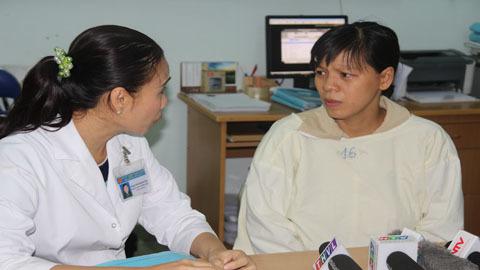 Bé sơ sinh bị đâm xuyên sọ hồi phục, sắp xuất viện