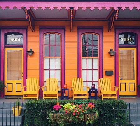 Chọn màu sơn cho mặt tiền nhà đẹp mà không đụng hàng