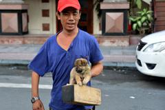 Người đánh giày câm và chú chó mù trên đường phố SG