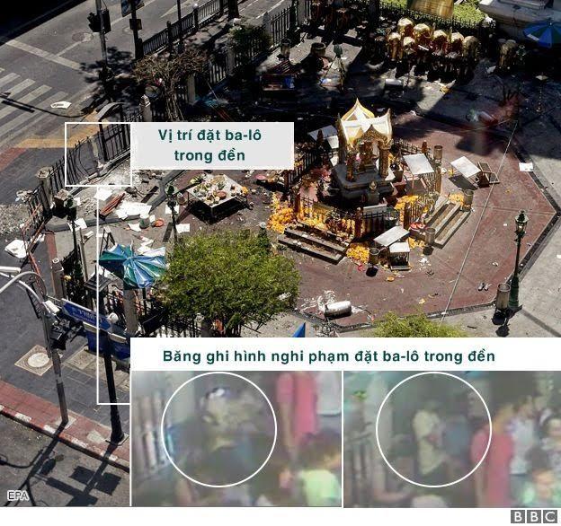 Bangkok, Campuchia, đánh bom, chưa nổ, nghi phạm