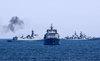 Hải quân Trung-Nga tập trận lớn chưa từng thấy