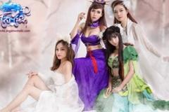 Ngắm nhìn vẻ đẹp của Tứ Đại Thần Nữ trong cosplay Tru Tiên 4D