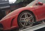 Dàn xe tiền tỷ bị phủ bụi được chuyển từ Hà Nội về Quảng Ninh