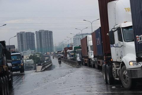 cầu Phú Mỹ, kẹt xe, ách tắc, giao thông, quận 7