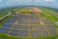 Sân bay đầu tiên hoạt động hoàn toàn bằng năng lượng mặt trời