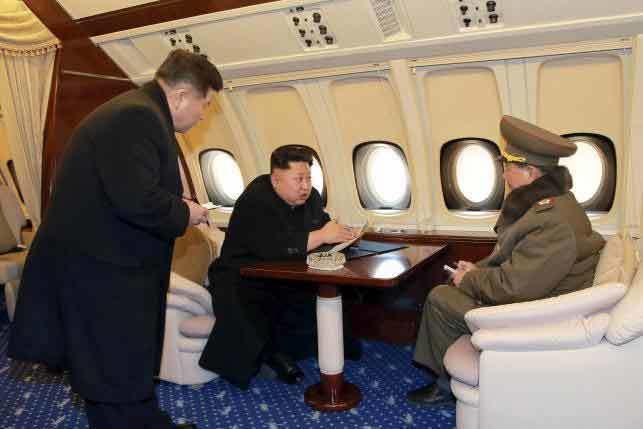 Kim Jong-un, Triều Tiên, đường băng