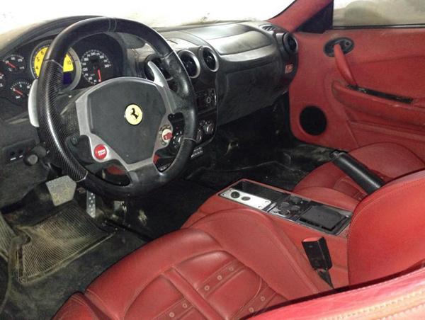 Ferrari 430 Spider, Ferrari 430 Scuderia, Maserati GranTurismo, Mercedes-Benz GL-Class và BMW 7-Series, siêu xe , Dũng mặt Sắt, ở kho Cục Thi Hành Án, Hạ Long, Siêu-xe , Dũng-mặt-Sắt, Cục-Thi-Hành-Án, Hạ-Long