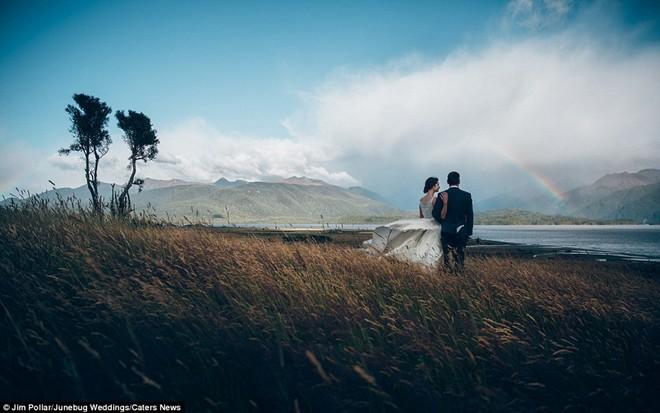 Những bức ảnh cưới kỳ công giữa thiên nhiên