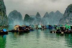 """Thị trấn """"bồng bềnh trên nước"""" đẹp hàng đầu thế giới tại Việt Nam"""
