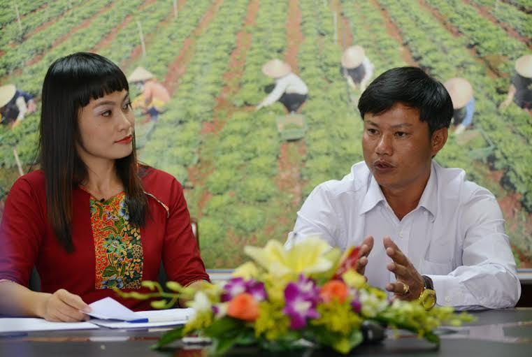 HTX, nông nghiệp, kinh tế tập thể, bàn tròn, xã viên, nông dân, Nguyễn Công Thừa, HTX Anh Đào, Lê Đức Thịnh, Đào Thế Anh
