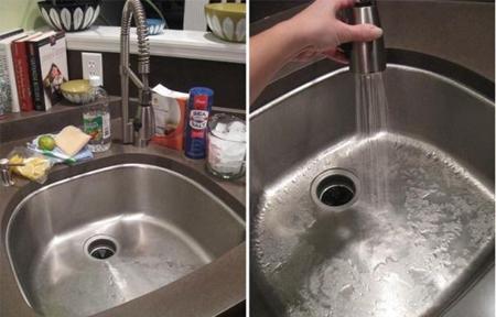 mẹo làm sạch nhà bếp, đồ dùng nhà bếp, mẹo cho bà nội trợ