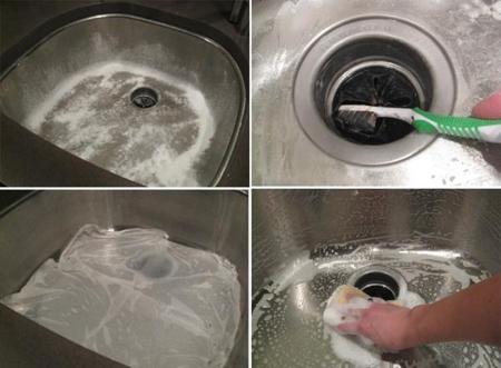 10 mẹo làm sạch các đồ dùng nhà bếp chỉ trong 'nháy mắt'
