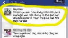 Cô giáo mầm non mất việc vì xúc phạm trò trên Facebook