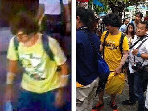 đánh bom Bangkok, nghi phạm, hiện trường