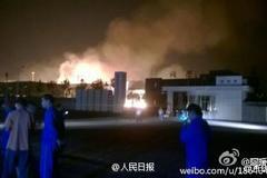 Lại nổ nhà máy hóa chất ở Sơn Đông, Trung Quốc