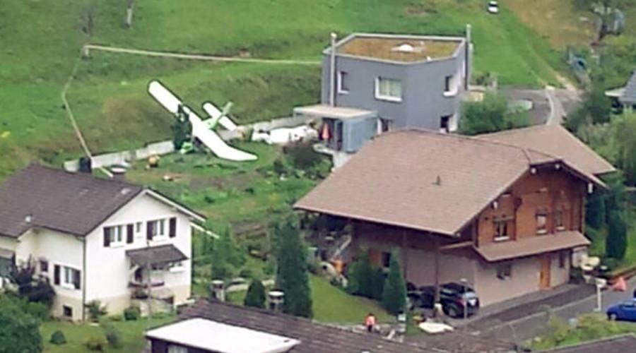 Hai máy bay Thụy Sĩ đâm nhau giữa trời