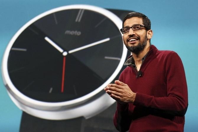 Sundar Pichai, CEO Google, Microsoft, Google, Adobe, Nokia, Satya Nadella, Shantanu Narayen, Rajeev Suri
