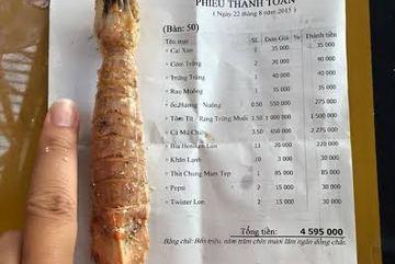 Đà Nẵng 'chặt chém': 1 triệu đồng/kg tôm tít