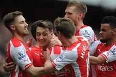 """Ozil: Chờ đấy, Arsenal sẽ lại... """"ăn thịt"""" Liverpool"""