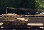 Dàn xe tăng, pháo khủng TQ gần biên giới Triều Tiên