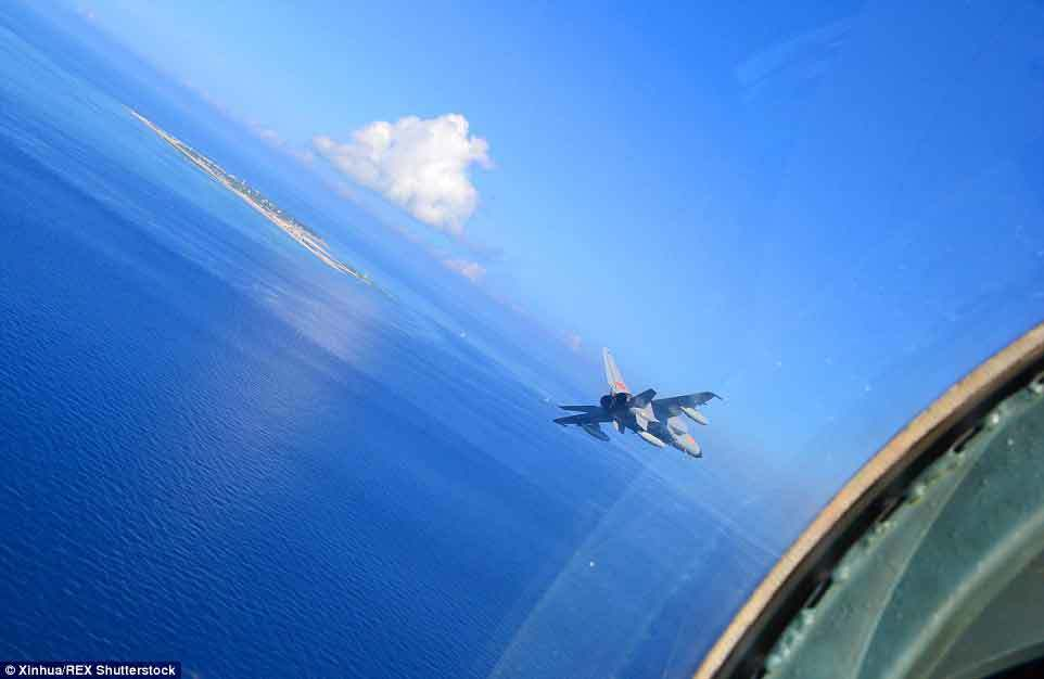 Nga, Trung, tập trận, Biển Nhật Bản, chiến đấu cơ
