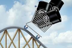 Giá dầu thấp kỷ lục: 38 USD/thùng